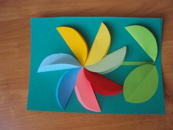 Открытка семицветик своими руками, открыткой новым