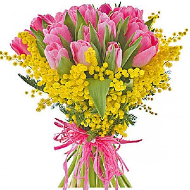 Заказать цветы к празднику 8 марта